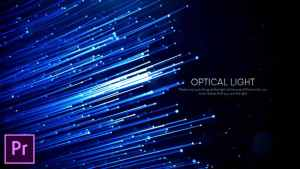 Optical Light Inspiring Titles - Premiere Pro