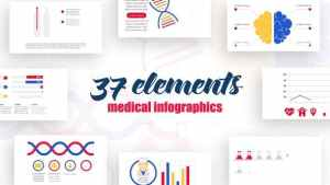 Infographics Medical Elements