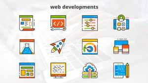 Web Development - Flat Animated Icons