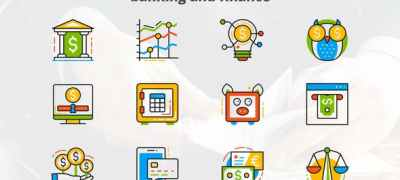 Banking and Finance - Flat Animated Icons