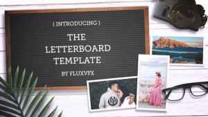 Letter Board Flat Lay Kit