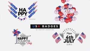 USA Badges