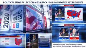 Broadcast - Political News / Election Mega Pack