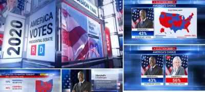 Broadcast - Political News / Election Mega Pack
