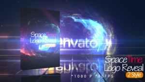 SpaceTime Logo Reveal