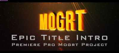 Epic Title Intro (mogrt)