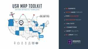 Usa Map Toolkit