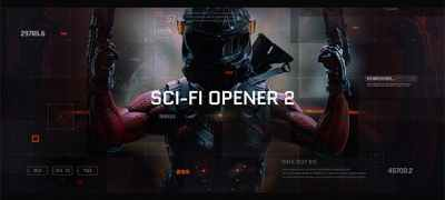 Sci-Fi Opener / Hi-Tech Slideshow / Futuristic Film Credits / HUD Elements / Space Science