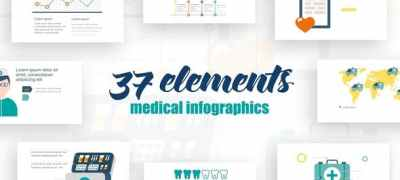 Infographics Medical Elements 2