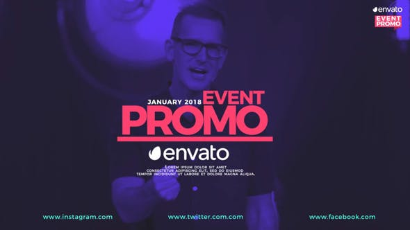 Download Event Promo – FREE Videohive
