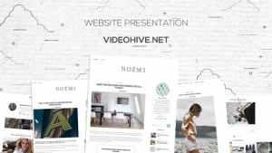 Grunge Paper Website Promo