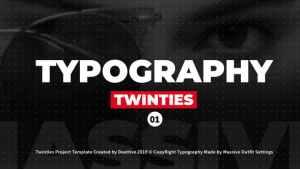 Twinties - Typography
