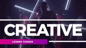 Creative Lower Thirds
