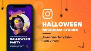Halloween Instagram Stories
