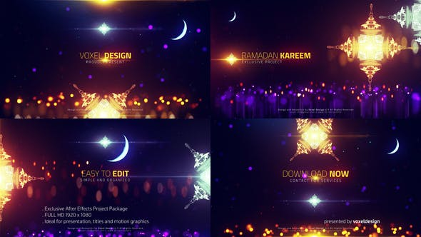 Download Ramadan cinematic titles – FREE Videohive