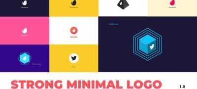 Strong Minimal Logo