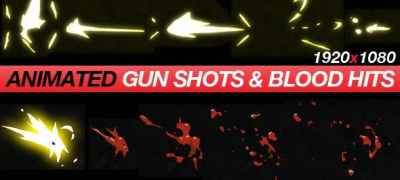 Gun Shots & Blood Hits - Anime Action Essentials