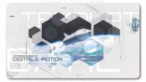 Hexa E Motion Digital Slideshow