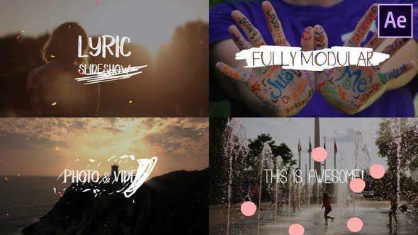 Lyric Slideshow | After Effects 25058839 Videohive