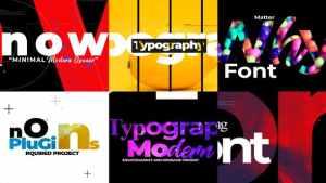 Minimal Typograpy Opener
