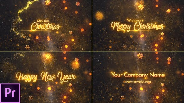 Download Christmas Greetings – Premiere Pro – FREE Videohive