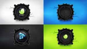 Mechanical Lens Logo Reveal