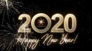 Modern New Year Countdown Clock 2020