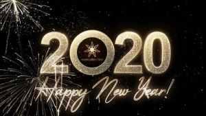 Modern New Year Countdown Clock 2020