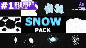 2D Cartoon Snow | After Effects