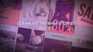 Clean Instagram Stories Slides