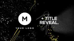 Logo & Title Reveal Scribble Grunge