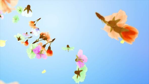Download Flowers and Petals Logo – FREE Videohive