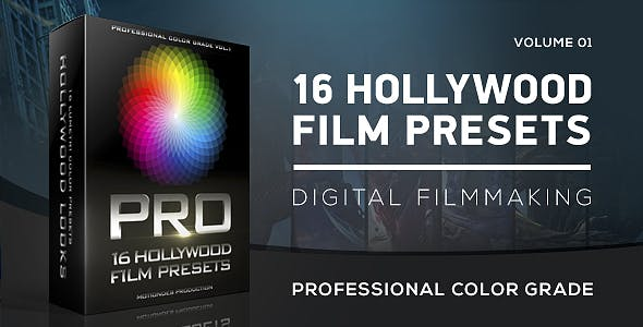 Download Hollywood Film Color Grading – FREE Videohive