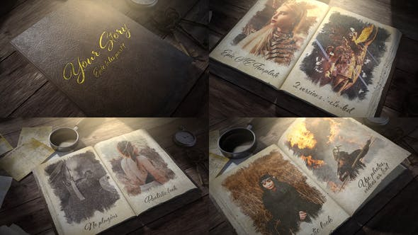 Download Your Story Book – FREE Videohive