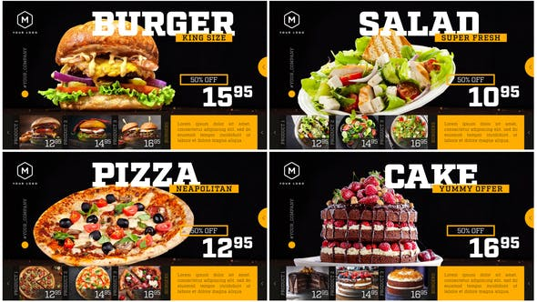 Restaurant Menu – Food Promotion 25731645 Videohive