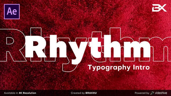 Download Rhythm Typography Intro – FREE Videohive