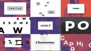 Typographic And Documentary Opener