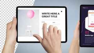 Tablet PRO Mockup Template