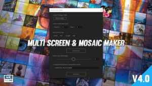 Mosaic & Multiscreen Maker Auto
