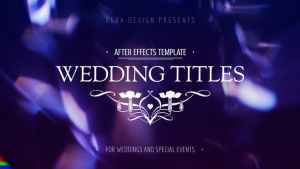 Wedding Titles