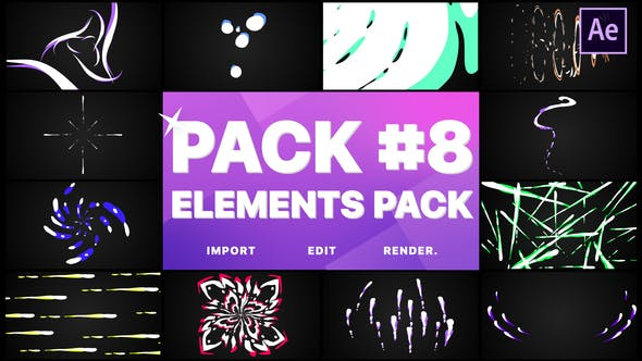 Download Flash FX Elements Pack 08 | After Effects – FREE Videohive