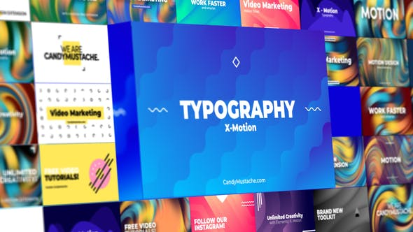 Download X-Motion | Typography | After Effects – FREE Videohive