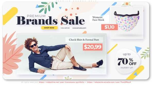 Download Premium Brands Sale – FREE Videohive