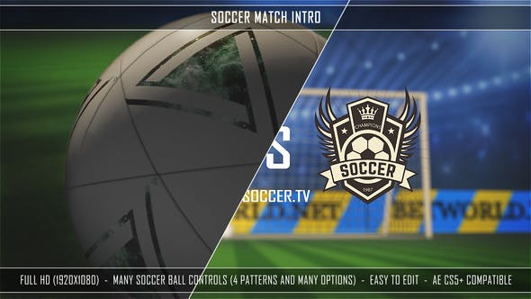 Download Soccer Match Intro – FREE Videohive