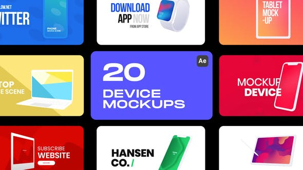 Download Device Mockups – Videohive