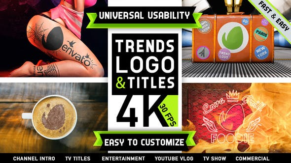 VIDEOHIVE TRENDS LOGO CHANNEL