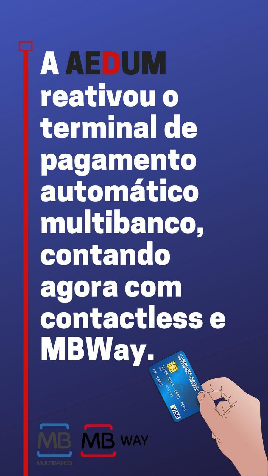 Reativação do terminal de pagamento automático