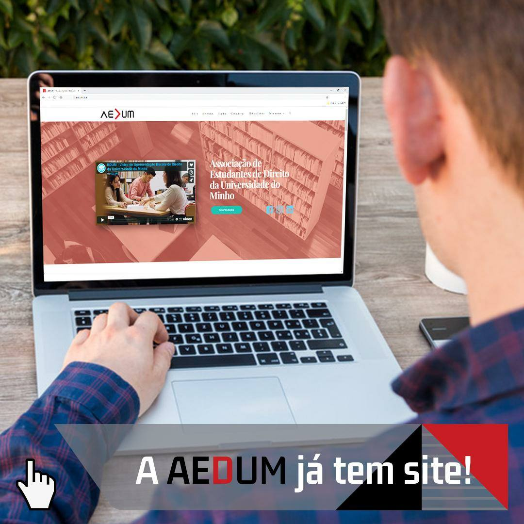 """Abertura"" Oficial do Site AEDUM"