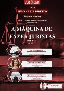 XXIII Semana de Direito – Sessão de Abertura