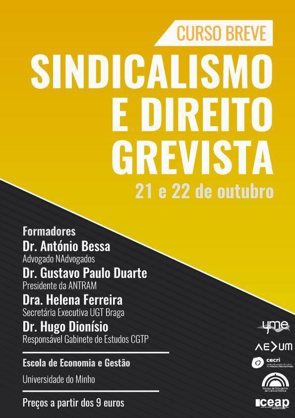 Curso Breve Sindicalismo e Direito Grevista
